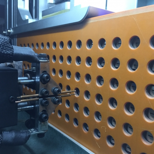 Safe operation process of spot welding machine for lithium battery assembly equipment