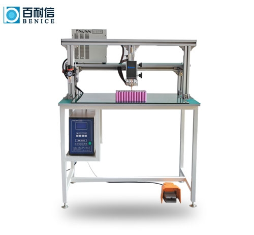 Lithium battery spot welding machine
