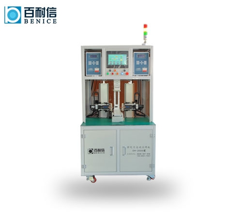 Double-sided lithium battery spot welding machine