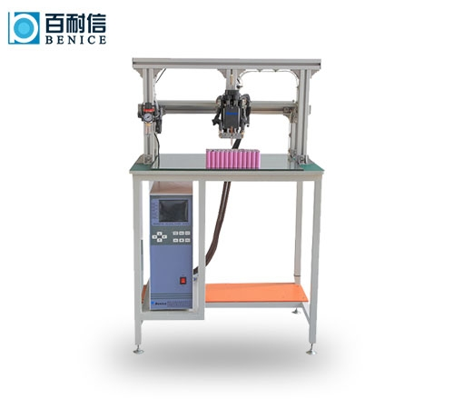 Lithium battery transistor spot welding machine